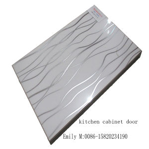 Modern Lacquer Door Kitchen Cabinet (ZH-025) pictures & photos