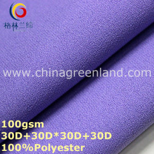Plain Dyeing Polyester Chiffon Fabric for Woman Dress (GLLML320) pictures & photos