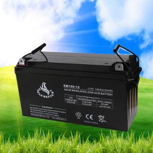 12V 150ah Maintenance Free Rechargeable AGM Lead Acid VRLA Battery pictures & photos