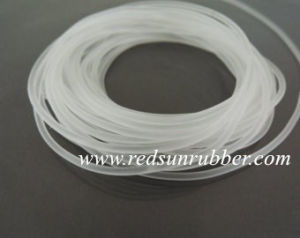 Clear Silicone Rubber Strip pictures & photos