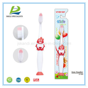 Kids Toothbrush QQ Design with Sucker (6-12years) pictures & photos