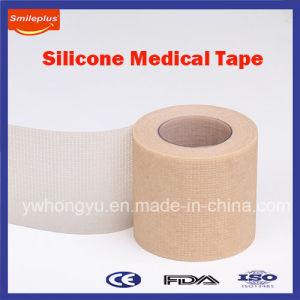 Breathable and Hypoallergenic Non Woven Silicone Medical Tape pictures & photos