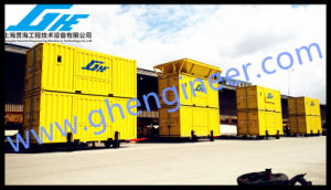 Ce Mobile Containerized Bagging Machine in Port pictures & photos