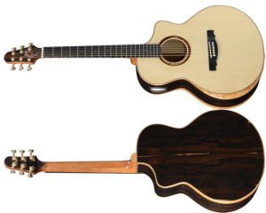 Aiersi Master Level Handmade Double Top Acoustic Guitar pictures & photos