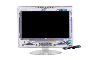 21.5 Inch Transparent LCD TV with Worldwide TV System pictures & photos