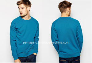 Cool Boy Reglan Sleeve Mens Cotton Terry Sweater pictures & photos