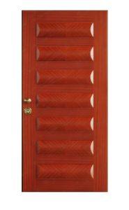Interior Wooden Fire Door with Embossing Stamp