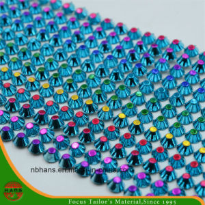 Rhinestone Mesh Trimming for Decoration (HASLE160101) pictures & photos