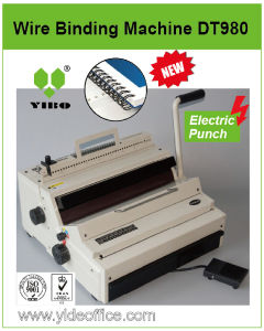 F4 Size P3: 1 Vertical Electrical Wire Binding Machine (DT980) pictures & photos