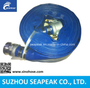 PVC Layflat Water Irrigation Hose Assembly-Camlock pictures & photos