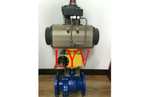 F304/F316 Flanged Trunion Ball Valve