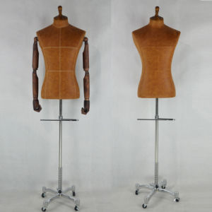 Popular Male Tailoring Mannequin Bust with Pants Holder pictures & photos