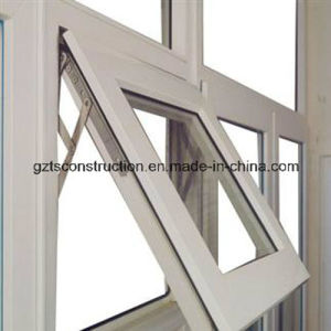 Customzied Double Glazing UPVC Top Hung Window pictures & photos