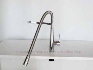 Sanitaryware Spring Brass kitchen Faucet pictures & photos