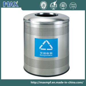 Round Shape Big Capacity Office Waste Bin pictures & photos