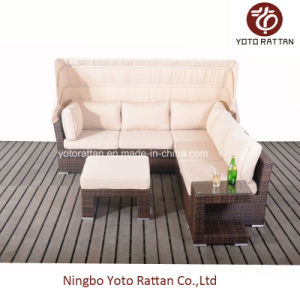 Hot Rattan Sofa with C-Table for Outdoor (5091) pictures & photos