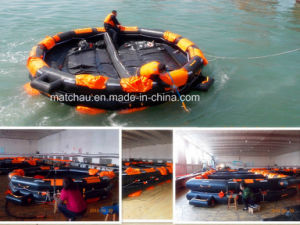 100 Persons Open Reversible Inflatable Life Raft pictures & photos