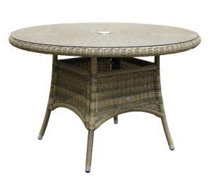 Rattan Wicker Garden Outdoor Furniture Round Dining Table