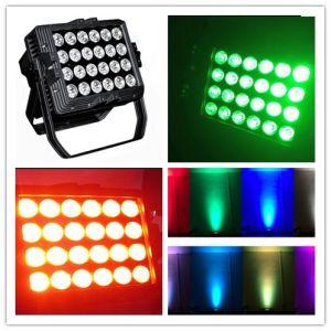 Outdoor 24PC 10W RGBW LED Flat up Light PAR Light pictures & photos