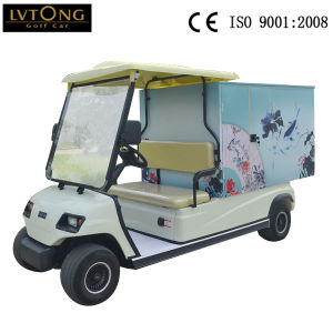4 Wheels Electric Food Car pictures & photos