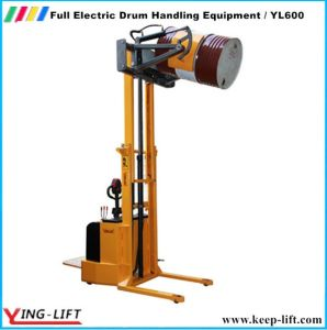 Yl600 Full Electric Standing Steer Steel Drums Rotator pictures & photos