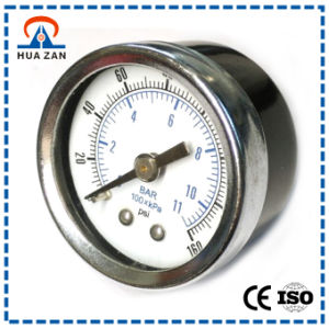2 Inches Chrome-Plating Ring Pressure Gauge pictures & photos