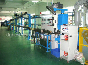 Xj-60mm Wire Cable Extrusion Production Line pictures & photos