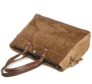 Washed 100%Cotton Canvas Bags Old Vintage Design Man′s Handbag (RS-8564) pictures & photos