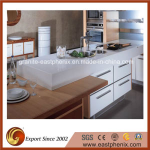 Modern Design Quartz Stone Kitchen Countertop pictures & photos