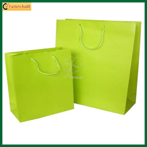 Promotional Custom Printed Kraft Paper Shopping Packaging Carrier Gift Bags (TP-PRB004) pictures & photos