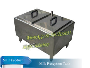 300L Milk Reception Tank Milk Weighing Tank Milk Acceptance Tank pictures & photos