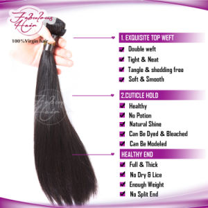 Wholesale Brazilian Straight Hair Human Virgin Remy Hair Products pictures & photos