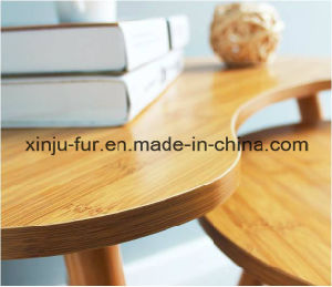 Solid Wood Bamboo Side Table (set of two) pictures & photos