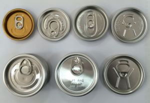 Singapore Rpt 200# 50mm Pop-Top End for Beverage Can pictures & photos