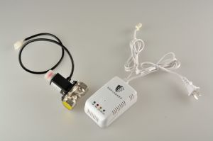 Home Security Domestic Gas Detector with Solenoid Valve Dn20 pictures & photos