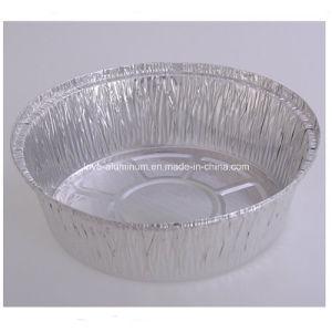 Round Disposable Aluminium Foil Lunch pictures & photos