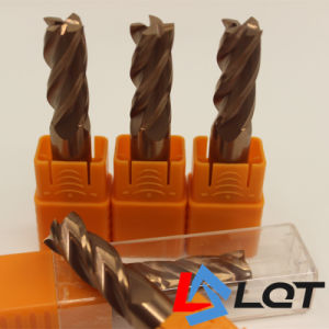 HRC 65 Tungsten Steel Carbide Endmilling Cutter pictures & photos