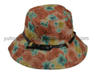 Beautiful Lady Bucket Cap/Hat, Floppy Hat pictures & photos