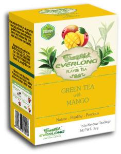 Mangoflavored Green Tea Pyramid Tea Bag Premium Blends Organic & EU Compliant (FTB1503) pictures & photos
