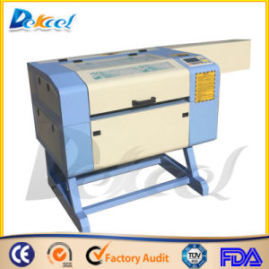 Dekcel CO2 Laser CNC Engraving Cutting Machine 6040 pictures & photos