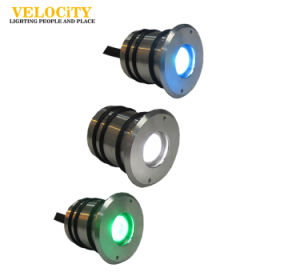 2W Full Color IP68 Stainless Steel LED Swimming Pool Light pictures & photos