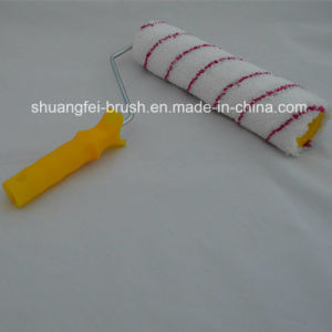 Red Strips Microfabric Paint Roller with Handle pictures & photos