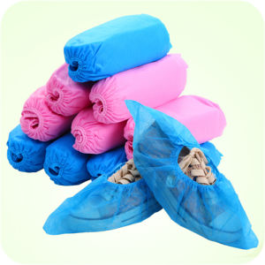 Xiantao Manufacturer Disposable PP Nonwoven Shoe Cover/Overshoes by Machine Made, Competitive Price
