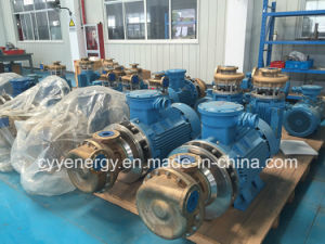 Cyyp20 High Quality and Low Price Horizontal Cryogenic Liquid Transfer Oxygen Nitrogen Coolant Oil Centrifugal Pump pictures & photos