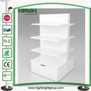 Convenience Grocery Store Shelf with Wooden Drawer pictures & photos