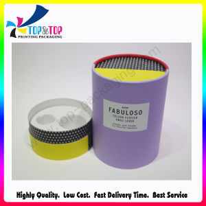 Fancy Custom Cmyk Art Paper Printed Round Gift Box pictures & photos