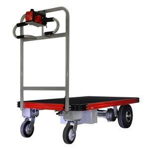 Electric Hand Cart (DH-PF1-C8, Heavy Duty, Curtis Controller, 800W Motor) pictures & photos