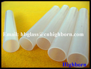 Polishing Milky White Quartz Glass Pipeline Supplier pictures & photos