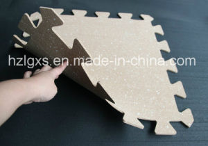 EPDM Granules Interlocking Rubber Mats for Gym pictures & photos