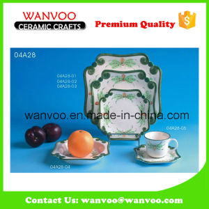 Wholesale Microwave Safe Porcelain Dinnerware for Home and Hotel pictures & photos